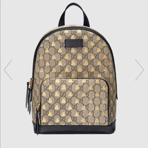 Gucci GG Supreme Bees Backpack 🐝